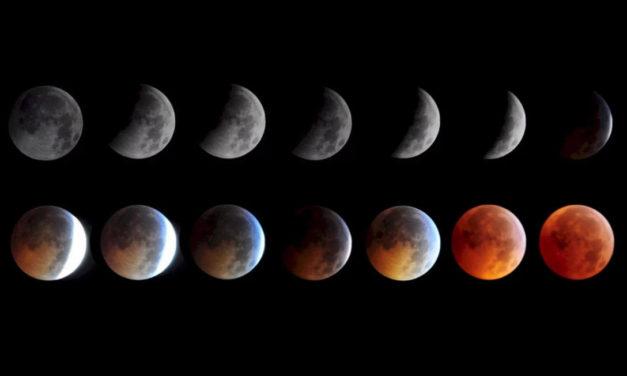 Лунное затмение 2014
