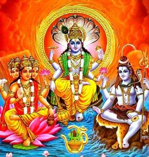 Вишну, Шива и Деви