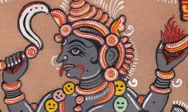 Кали-садхана на Дивали