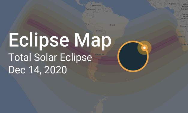 Солнечное затмение – 14 декабря 2020